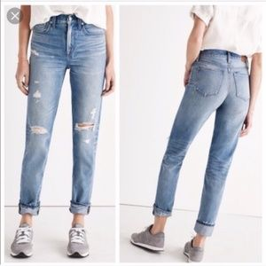Madewell The Perfect Vintage Jean Light Wash Jeans